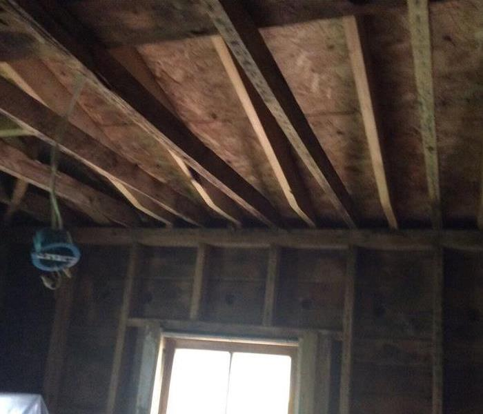 Soda Blasted sheeting and rafters