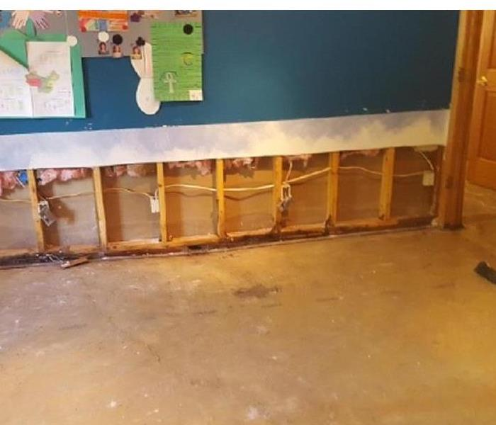 Water Damage How Water Classes Affect Drywall